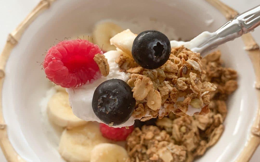 Coconut and flax granola recipe